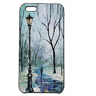 Pickpattern Back Cover For Apple Iphone 5C WINTERI5C-2387