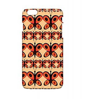 Pickpattern Back Cover For Apple Iphone 6 Plus BUTTERFLIESI6PLUS-4011