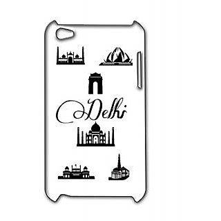 Pickpattern Back Cover For Apple Ipod Touch 4 DELHIIT4-4889