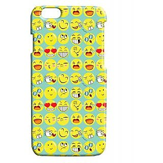 Pickpattern Back Cover For Apple Iphone 6 EMOJISI6-3463