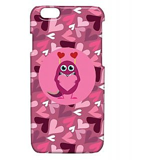 Pickpattern Back Cover For Apple Iphone 6 MONSTERLOVEI6-3310