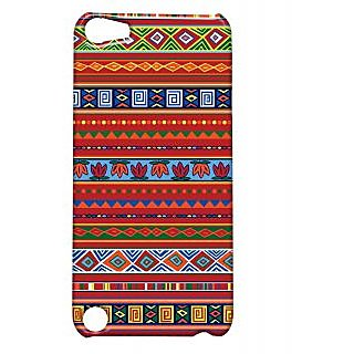 Pickpattern Back Cover For Apple Ipod Touch 5 REDETHNICIT5-5621