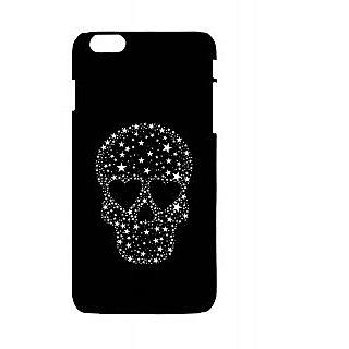 Pickpattern Back Cover For Apple Iphone 6 Plus SHINNYSKULLI6PLUS-3845