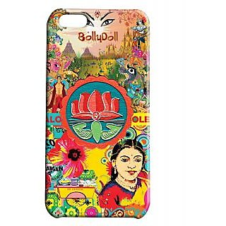 Pickpattern Back Cover For Apple Iphone 5C TRUCKBOLLYDOLLI5C-2606