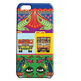 Pickpattern Back Cover For Apple Iphone 5C TRUCKDESIGNI5C-2602