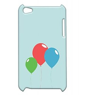 Pickpattern Back Cover For Apple Ipod Touch 4 COLOURFULBALOONSIT4-4665
