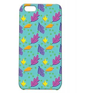Pickpattern Back Cover For Apple Iphone 5C FALLINGLEAFI5C-2650