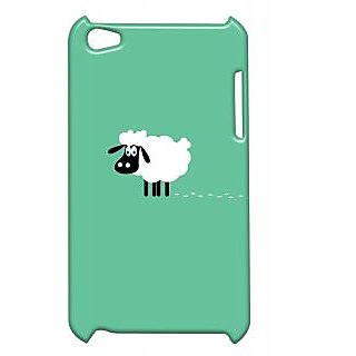 Pickpattern Back Cover For Apple Ipod Touch 4 SHEEPMINIMALIT4-5335