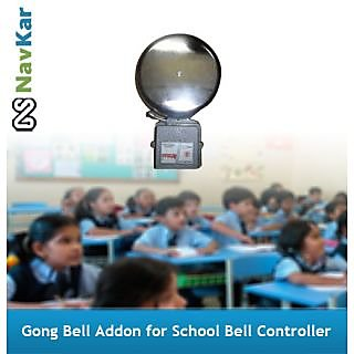 Gong Bell Addon for School Bell Controller