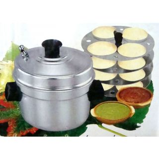 Ever Gold Aluminum Idli Maker With 4 Plates (16 Idlis)
