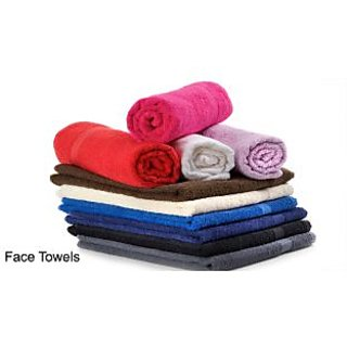 Summer Premium Face Towels- Set of 12