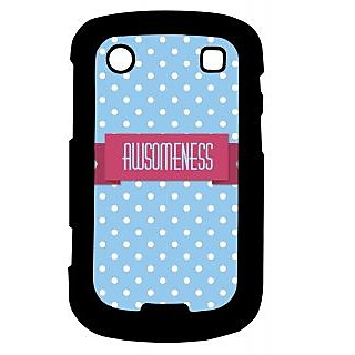 Pickpattern Back Cover For Blackberry Bold 9900 AWESOMENESS9900-6020