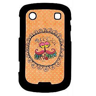 Pickpattern Back Cover For Blackberry Bold 9900 MOOCHI9900-6008