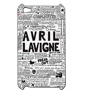 Pickpattern Back Cover For Apple Ipod Touch 4 AVRILDOODLEIT4-4704
