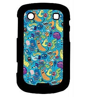 Pickpattern Back Cover For Blackberry Bold 9900 COMICTALK9900-5838