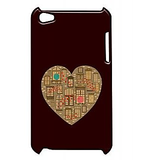 Pickpattern Back Cover For Apple Ipod Touch 4 HOMEHEARTIT4-5030
