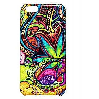 Pickpattern Back Cover For Apple Iphone 5C MULTICOLORPAINTI5C-2055