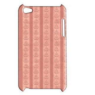 Pickpattern Back Cover For Apple Ipod Touch 4 PINKISHLINESIT4-5256
