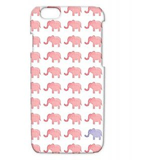 Pickpattern Back Cover For Apple Iphone 6 ELEPHANTTRUNKI6-3402