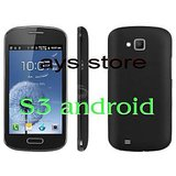 S3 New Arrival Smartphone Bluetooth WiFi 4 Inch Capacitive Cell Phone Android 4.0 SC6820 Dual SIM Dual Cameras 1.0GHz