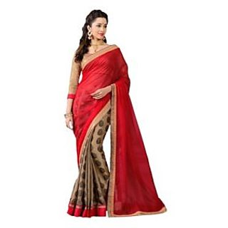 Rajnandini Digital Printed Multicolor Saree JOPLSALVAR758