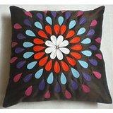 JBG Home Store  Beautiful Anarkali Design Cushion Cover(Set Of 5) -Brown