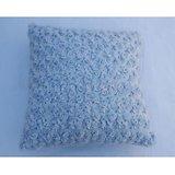 JBG Home Store Stylish Flower Designer Cushion Cover ( Set Of 5) -Blue
