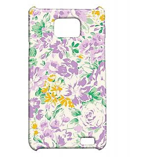 Pickpattern Back Cover For Samsung Galaxy S2 I9100 PURPLEESSENCES2