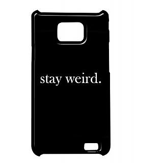 Pickpattern Back Cover For Samsung Galaxy S2 I9100 WEIRDBESTS2