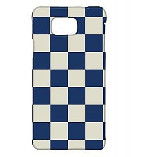 Pickpattern Back Cover For Samsung Galaxy Alpha BLUECHESSSALP