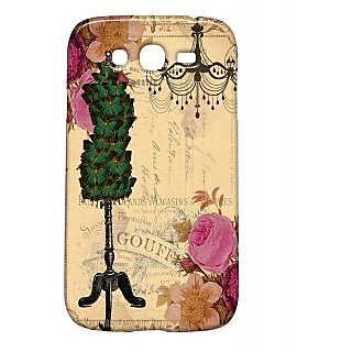 Pickpattern Back Cover For Samsung Galaxy Grand/Grand Duos I9082 VINTAGECHRISTMASCARDGG