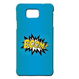 Pickpattern Back Cover For Samsung Galaxy Alpha BOOMSALP