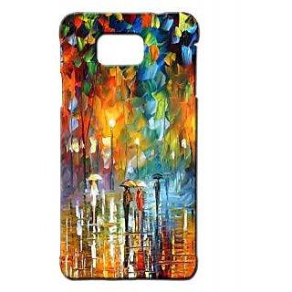 Pickpattern Back Cover For Samsung Galaxy Alpha WATERNATURESALP