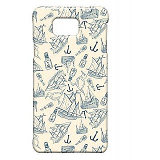 Pickpattern Back Cover For Samsung Galaxy Alpha SHIPPINGDESIGNSALP