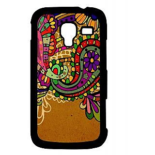Pickpattern Back Cover For Samsung Galaxy Ace 2 I8160 BROWNSAREEACE2