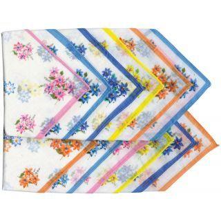 Female Handkerchief Pack of 12