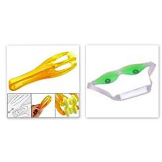 Combo of Cool Eye Mask and Finger massager