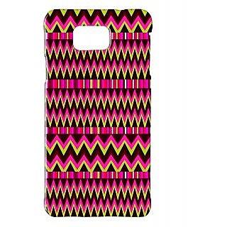 Pickpattern Back Cover For Samsung Galaxy Alpha PINKETHNICSALP