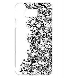 Pickpattern Back Cover For Samsung Galaxy Alpha DISASTERSALP