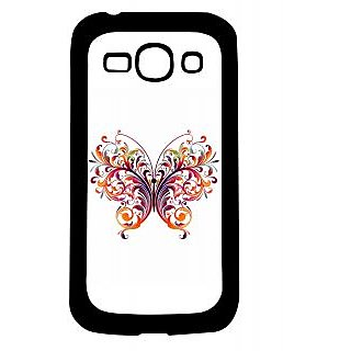 Pickpattern Back Cover For Samsung Galaxy Ace 3 S7272 BUTTERFLYSPAMACE3
