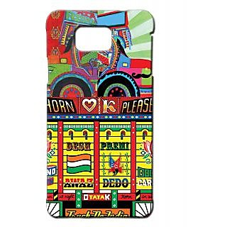 Pickpattern Back Cover For Samsung Galaxy Alpha TRUCKQUOTESALP