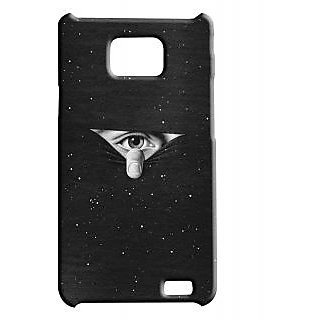Pickpattern Back Cover For Samsung Galaxy S2 I9100 EYETOEYES2