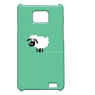 Pickpattern Back Cover For Samsung Galaxy S2 I9100 SHEEPMINIMALS2