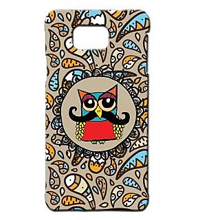 Pickpattern Back Cover For Samsung Galaxy Alpha OWLMUCCHISALP