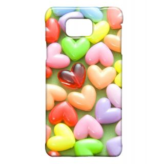 Pickpattern Back Cover For Samsung Galaxy Alpha HEARTGEMSSALP