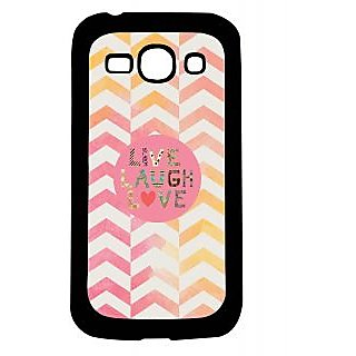 Pickpattern Back Cover For Samsung Galaxy Ace 3 S7272 LIVELOVELAUGHACE3