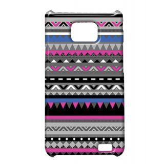 Pickpattern Back Cover For Samsung Galaxy S2 I9100 PURPLE&BLACKS2