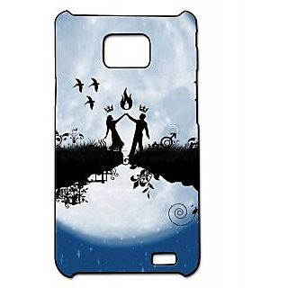 Pickpattern Back Cover For Samsung Galaxy S2 I9100 SAWARIYAAS2