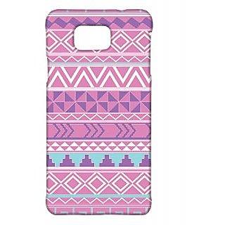 Pickpattern Back Cover For Samsung Galaxy Alpha AZTECEGYPTIANSALP