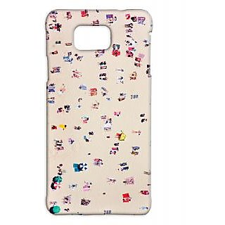 Pickpattern Back Cover For Samsung Galaxy Alpha BEACHVACATIONSALP